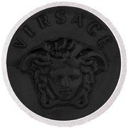 Versace Jewelry-8 Round Beach Towel