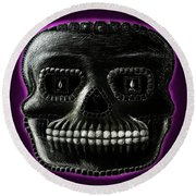Watchman, Sugarskull Of Passing Time Round Beach Towel