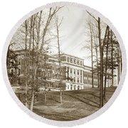 Walter Reed General Hospital Dec. 2, 1924 Round Beach Towel