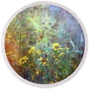 Wildflower Tangle 5694 Idp_2 Round Beach Towel