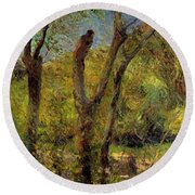Willows 1885 Round Beach Towel
