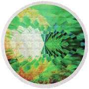 Winged Migration Round Beach Towel