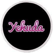 Yehuda #yehuda Round Beach Towel