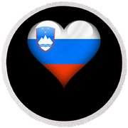 Heart Slovenia Flag Digital Art By Jose O