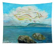 A Cloud Over The Sea Tapestry