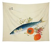 Autumn Fattens Fish And Ripens Wild Fruits Tapestry