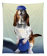 Bowling Hound Tapestry