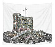 Cabot Tower Tapestry