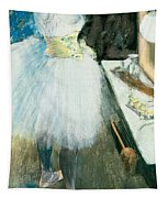 Dancer In Her Dressing Room Tapestry