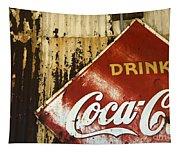 Drink Coca Cola  Memorbelia Tapestry