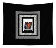 Funny Grader Man - Whacky Frame - Grader Tapestry