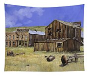 Ghost Town Of Bodie-california Tapestry