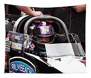 Hillary Will Las Vegas Motor Speed Way Strip Nhra Finals 2008 Tapestry