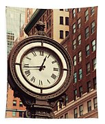 Historic Clock Of The Fifth Avenue Tapestry