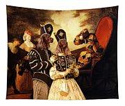 Irish Setter Art Canvas Print  Tapestry
