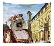 Keeshond Art Canvas Print Tapestry