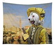 Komondor Art Canvas Print Tapestry