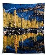 Leprechaun Lake Larches Tapestry