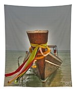 Long Tail Boat Tapestry