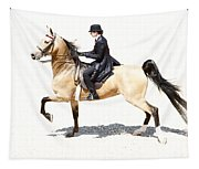 Lovely Gaited Buckskin  Tapestry