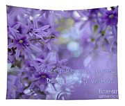 Peace Comes From Within Tapestry