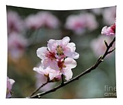 Peach Blossoms I Tapestry