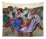 Russian Dancers Tapestry