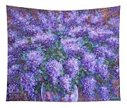 Scented Lilacs Bouquet Tapestry