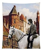 Scottish Deerhound Art Canvas Print Tapestry