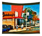 Steinbergs Grocery Store Paintings Vintage Montreal Art Order Prints Originals Commissions Cspandau Tapestry