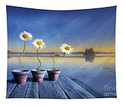 Summer Morning Magic Tapestry