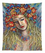 The Loving Angel Tapestry