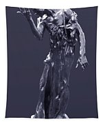 The Sculpture Of Auguste Rodin Tapestry