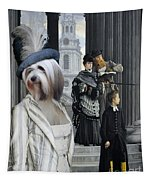 Tibetan Terrier Art Canvas Print Tapestry