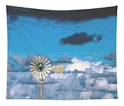 Water Windmill Tapestry