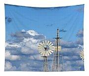 Water Windmills Tapestry
