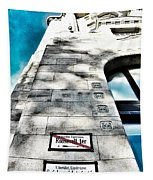 Way The Wind Blows - Four Season Hotel Budapest Hungary Tapestry