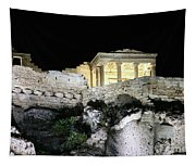 0212 The Acropolis Athens Greece Tapestry