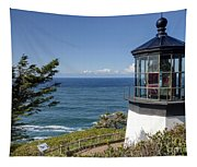 0511 Cape Mears Lighthouse - Oregon Tapestry