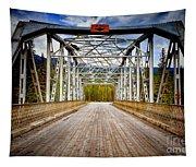 0649 Bow River Bridge Tapestry