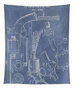 1856 Revolver Patent Tapestry