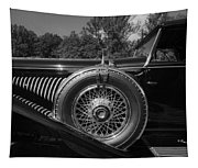 1929 Duesenberg Model J Covertible Coupe By Murphy Tapestry