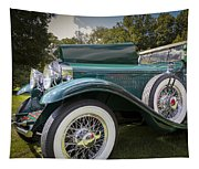 1929 Isotta Fraschini Tipo 8a Convertible Sedan Tapestry