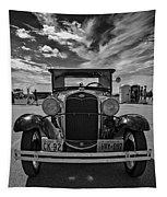 1931 Model T Ford Monochrome Tapestry