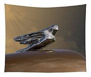 1941 Cadillac Fleetwood Hood Ornament Tapestry