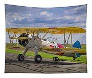 1943 Boeing Stearman Tapestry