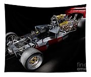 1974 Lola T332  F5000 Race Car V8 5 Litre Chassis Tapestry