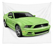2013 Ford Mustang Gt 5.0 Sports Car Tapestry