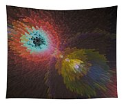 3d Dimensional Art Abstract Tapestry