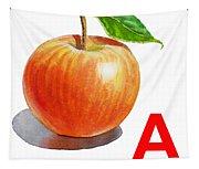 A Art Alphabet For Kids Room Tapestry